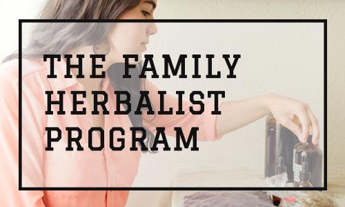 The Family Herbalist Program